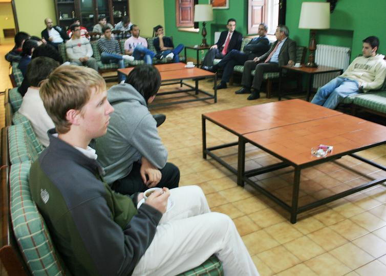 Acto Académico de Inicio del Curso Académico en el Colegio Mayor La Estila