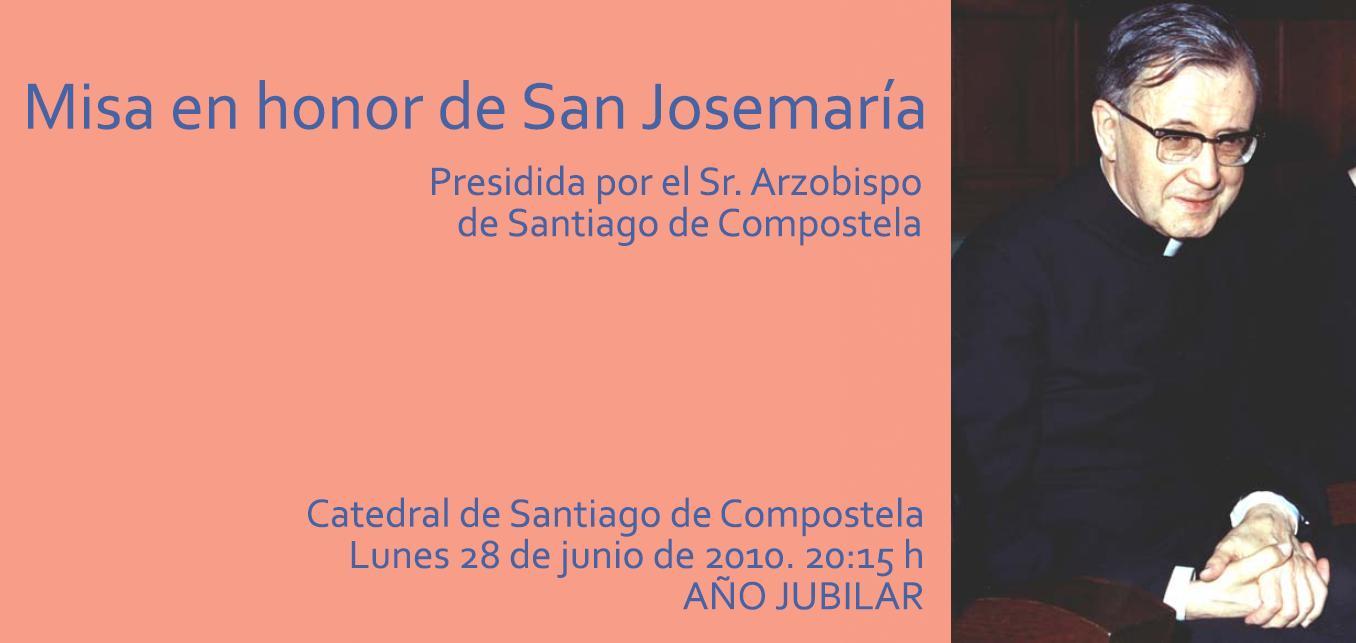 Misa en honor de San Josemaría