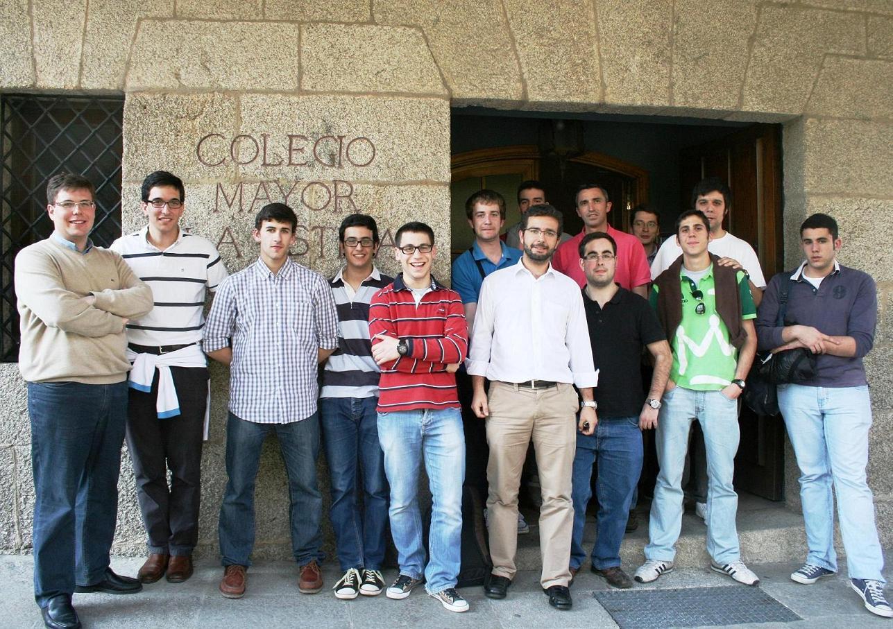 Residentes del Colegio Mayor La Estila viajan a Roma