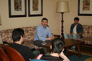 El Director Xeral de Xuventude de la Xunta de Galicia visita La Estila