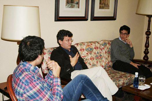 El Psicólogo Luis Ordoñez, Director del prestigioso Centro La Alameda imparte una conferencia y una tertulia en el Colegio Mayor