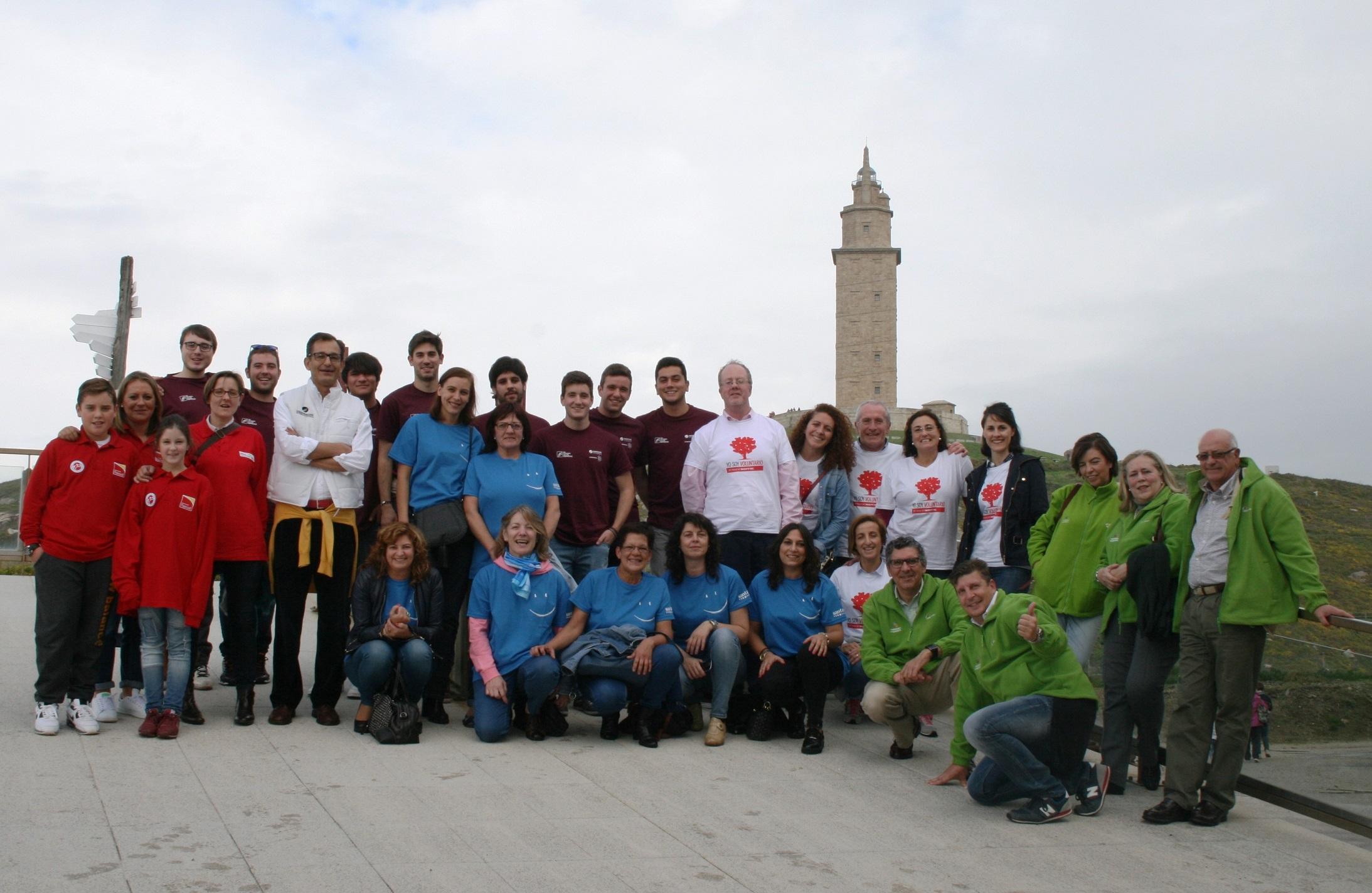 2015: El Colegio Mayor promueve diferentes iniciativas de voluntariado para estudiantes universitarios