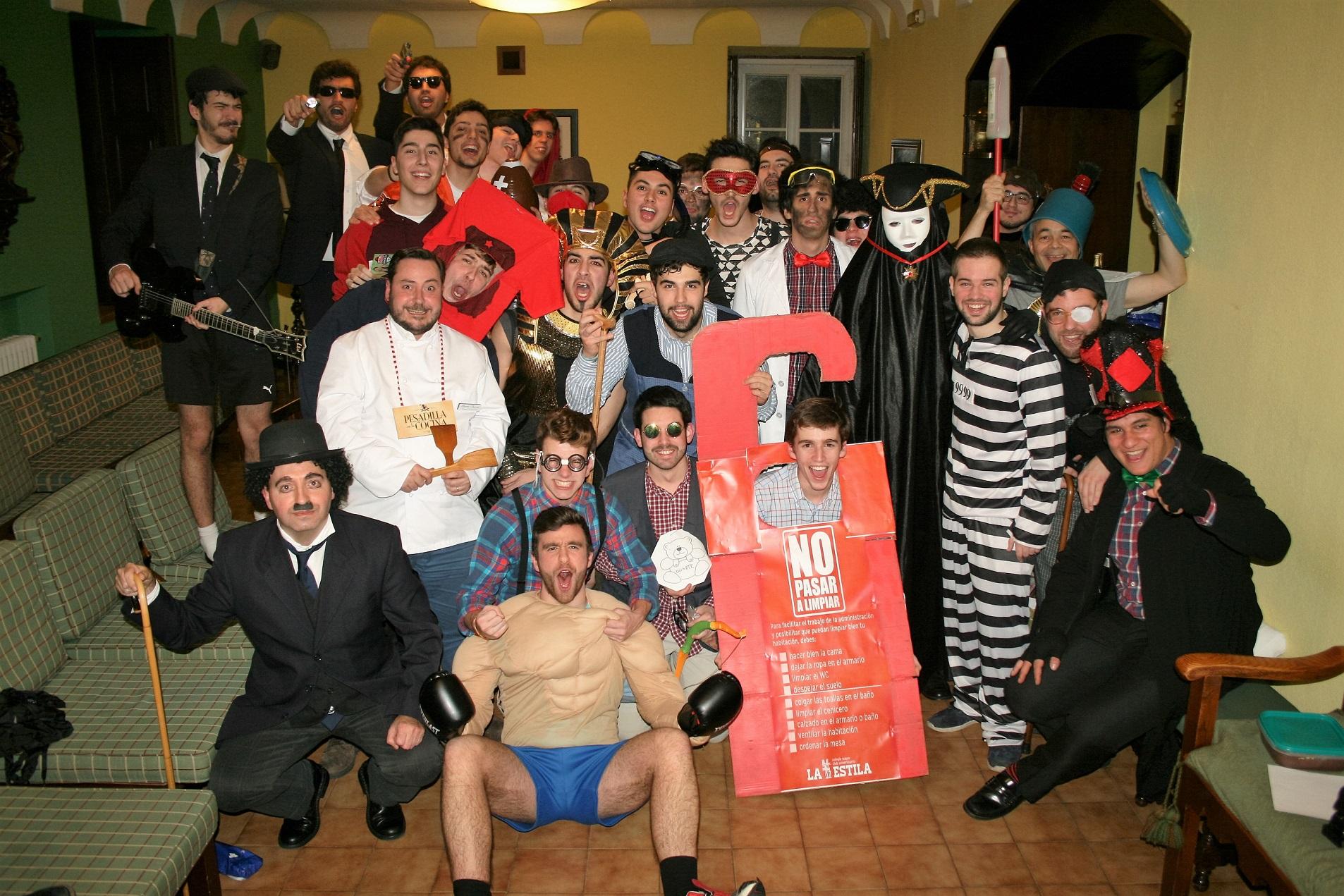 Diversión y buen humor, recetas del Colegio Mayor para el carnaval