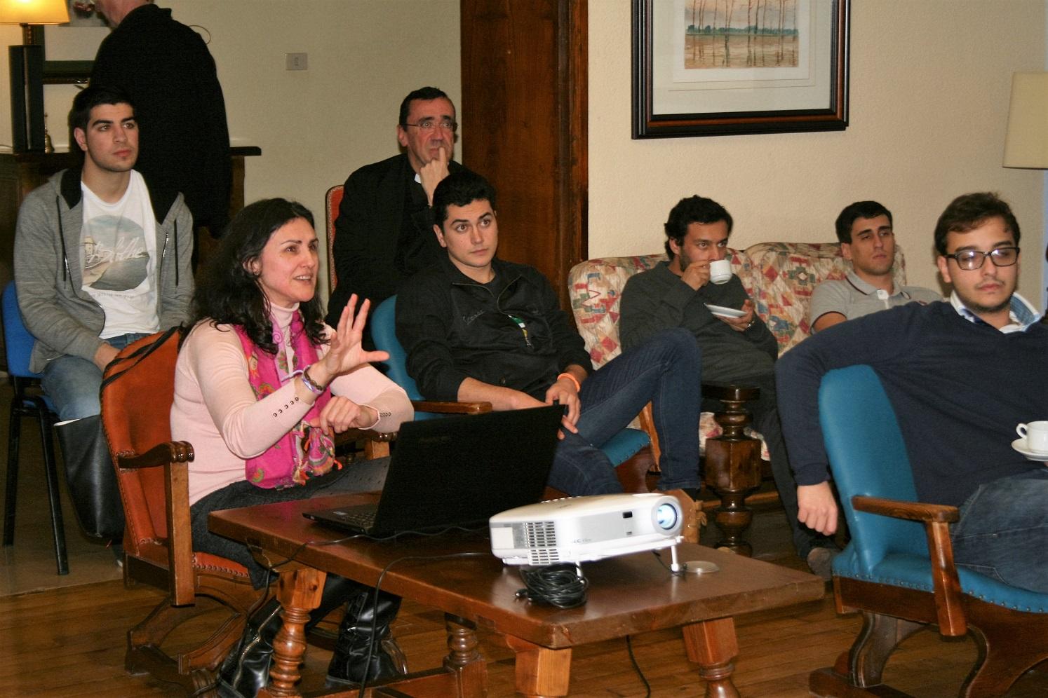 Tertulia en el Colegio Mayor con Susana Menéndez