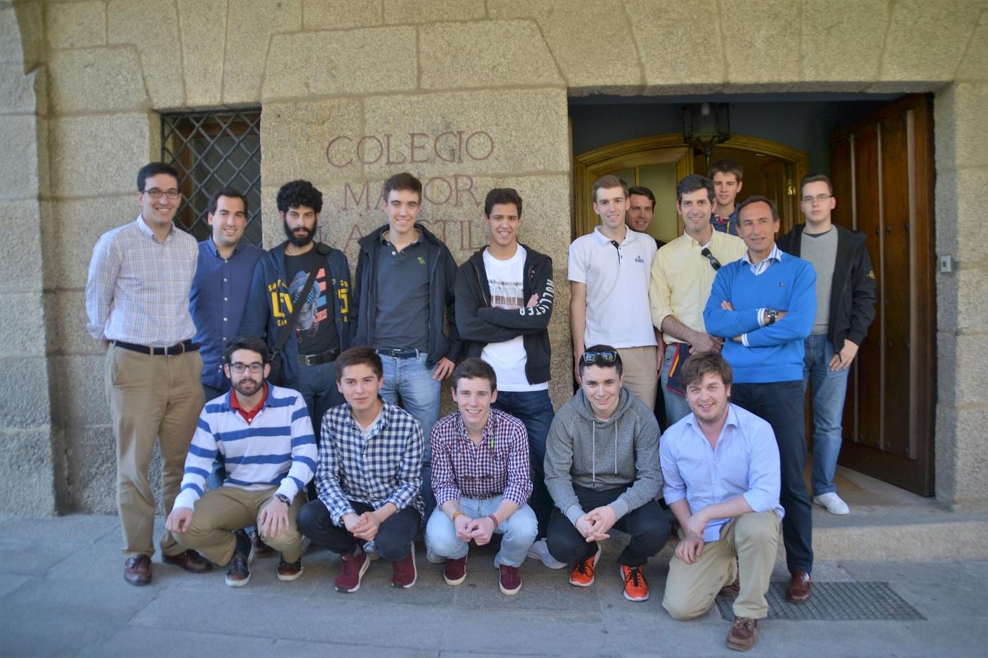 Universitarios gallegos viajan a Roma para participar en un Congreso